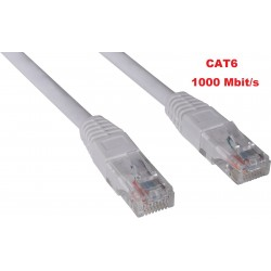 CAT6 UTP LAN patchcable 10 meter.