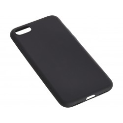 Cover til iPhone 7 soft sort, Sandberg