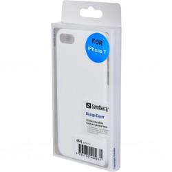 Hard Cover iPhone 7 hvid, Sandberg