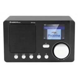 Internetradio, WiFi Bordradio med farvedisplay og DLNA, DR-422
