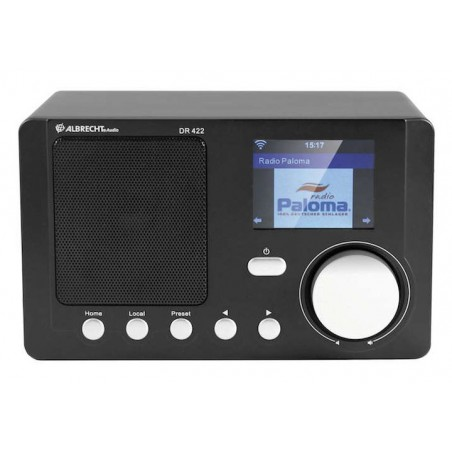 Internet radio, WiFi radio with color display and DLNA, DR-422