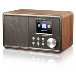 Internet og FM radio DR471, Bordradio i trækabinet, Kompakt og kraftig lyd