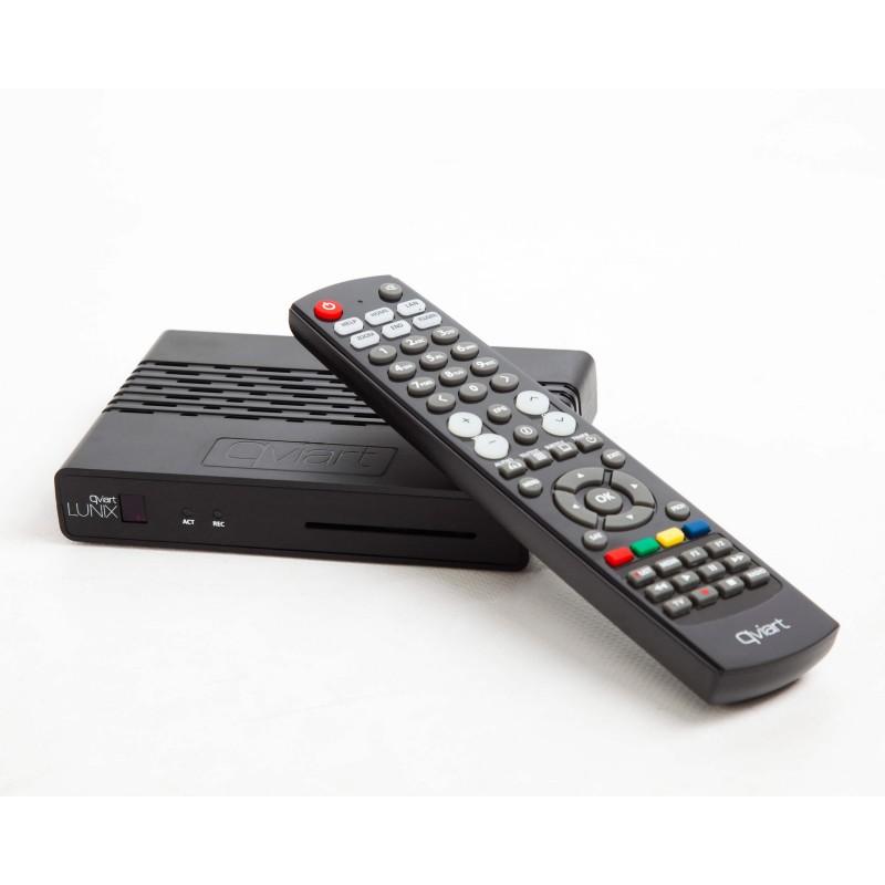 Qviart Lunix E2 DVB digitalmodtager til parabol og IPTV