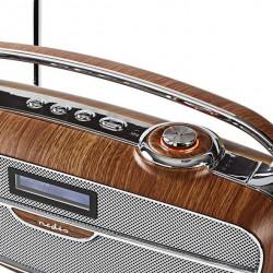 Bluetooth FM/DAB/DAB+ digital retro radio