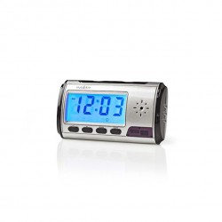 Alarm clock - desk clock with hidden camera