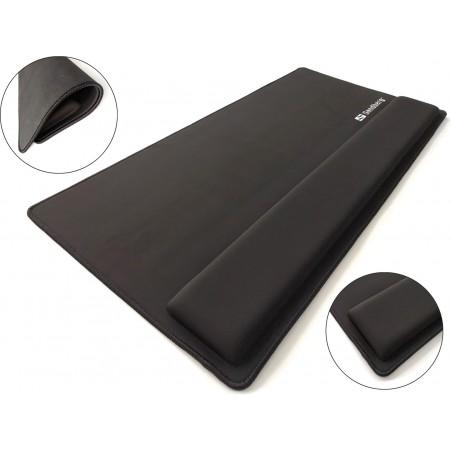 Underlag til tastatur og mus, Desk Pad Pro XXL Sandberg