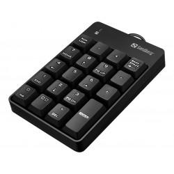 Numerisk tastatur, USB