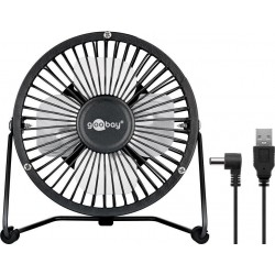 USB Desktop fan - quiet cool breeze.