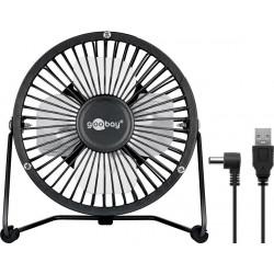 USB Desktop fan - quiet cool breeze.