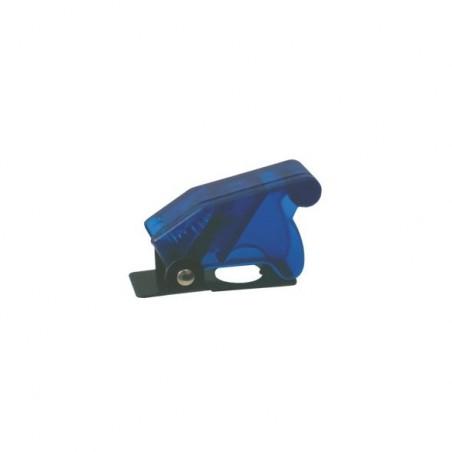 Cover semi transparent, blue