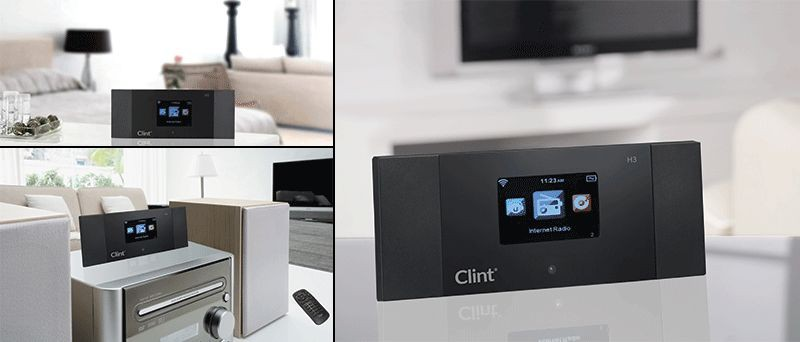 clint h3 adapter internetradio tuner adapter and. Black Bedroom Furniture Sets. Home Design Ideas