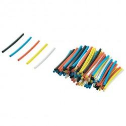 Heatshrink tube Multi-coloured 125pcs 1.60 mm - 0,80mm