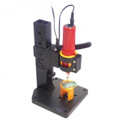 Mini hobby drilling machine 12V DC w. LED lightning