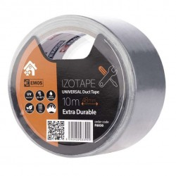 Duct tape silver gray 48mm x 10M, Extra durable