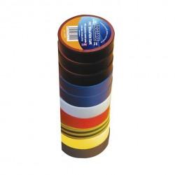 Insulation tape, 15mm x 10 M. 10 rolls.