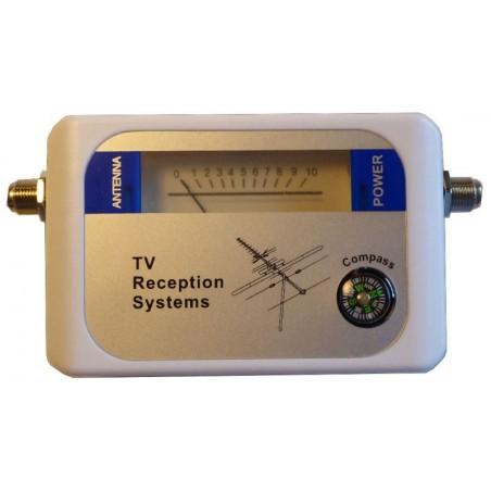 DVB-T/T2 signal finder - TV antenna signal strength meter