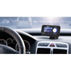 PTEC A1 autoradio adapter DAB og DAB+, Bluetooth.