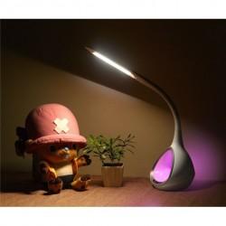 Bordlampe LED T5 m. farveskift