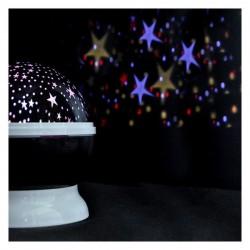 LED Julekugle - flot og dekorativ lyseffekt - nattehimmel - stjernehimmel