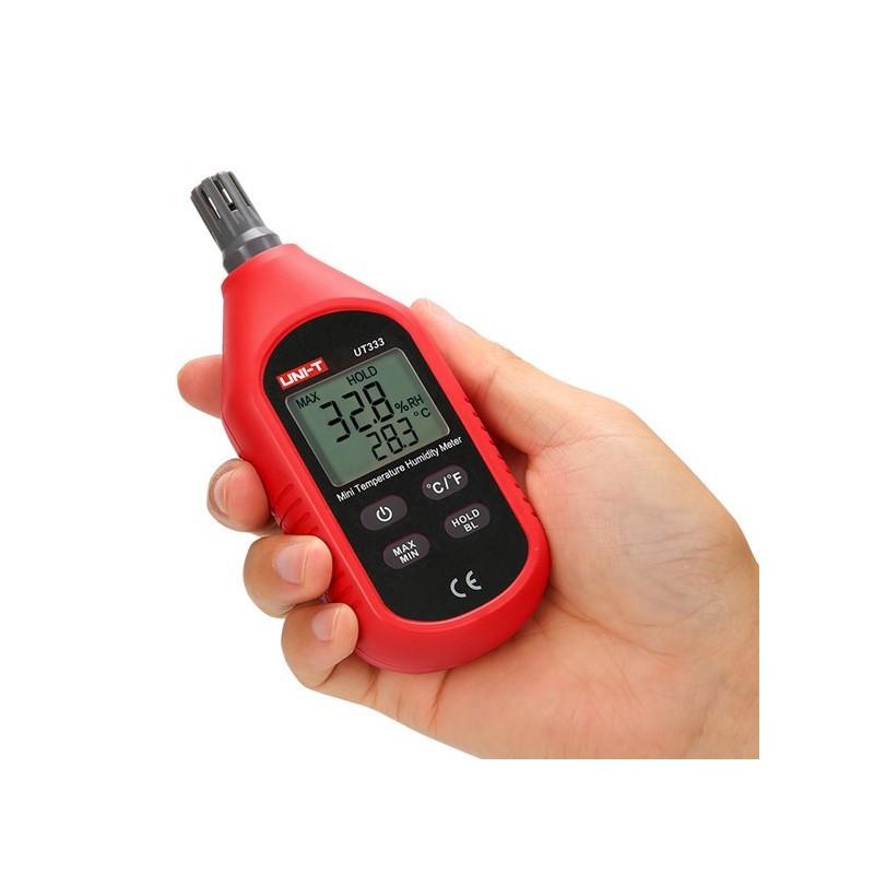 Temperatur og fugtighedsmåling (Hygrometer)