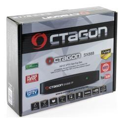 Octagon SX888 HEVC IPTV WebTV og IPTV MKV Xvid playback - OCTAGON SX888