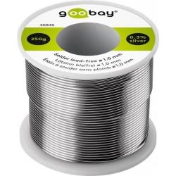 Solderless lead-free Ø1.0 mm, 250 g. Roll