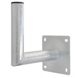 Vægbeslag Ø60 x 260 mm, varmgalvaniseret stål, beslaget anvendes ligeledes ved montering af professionelle overvågningskameraer,