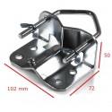 Mast clamp 30-60 mm.