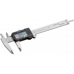 Digital caliper 150 mm. XXL display, RS-232 dataport.