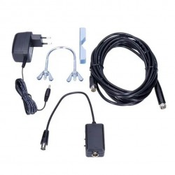 Komplet antennesæt. Smart TV antenne til Boxer TV. Med forstærker og LTE 4G filter.Antenne til Boxer TV og DR TV med forstærker.