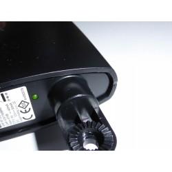 LED indikerer spænding til antenne forstærker. Antenne til Boxer TV og DR TV med forstærker. Digital TV antenne med forstærker