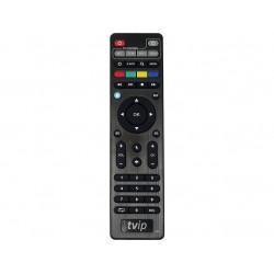 Android TV Boks Android Oreo 4K Ultra HD fjernbetjening. Android TV Boks TVIP 615 BT UHD H.265 HEVC WLAN