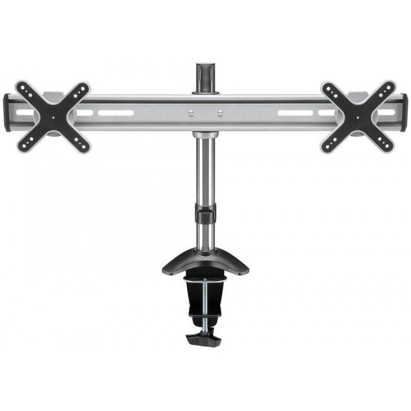 ScreenFlex Twin Pro table mount for 2 screens. VESA