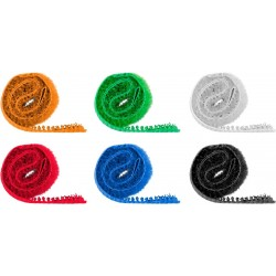 Velcro cable ties - organize cables the easy way.