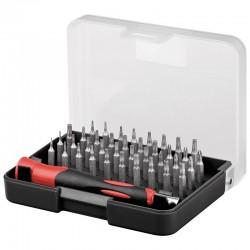 Bitsæt S2 værktøjsstål torx / Hex - høj kvalitet