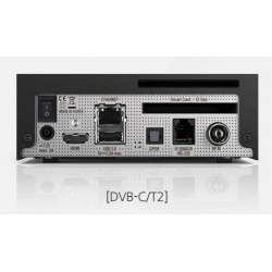 VU + Zero 4K Linux UHD set-top box with 1x DVB-C / T2 tuner