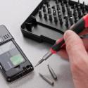 Bitsæt S2 værktøjsstål torx / Hex - høj kvalitet - godt værktøjssæt til rep af smartphone