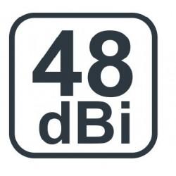 Jade3 LTE antenne til digitalt TV, 48 dBi, Perfekt til camping.