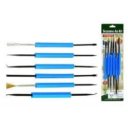 Soldering tool kit 6 parts