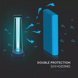 Dræb virus med UV-C og Ozon lampe.