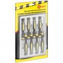 Værktøjssæt til reparation af mobiltelefon, 8 dele.