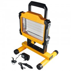 LED Worklight with 75 SMD LED and accu power