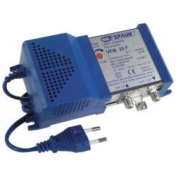 Spaun VFM 25F FM forstærker, 87,5-108 MHz 25 dB gain