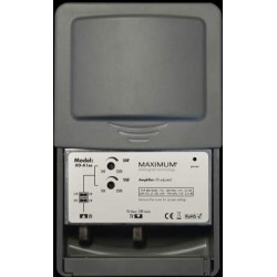 Antenna amplifier TV/DAB with LTE (4G) stopfilter