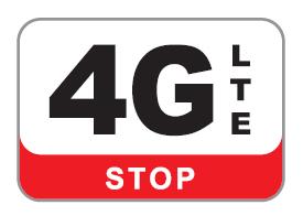 TV antenna with 4G filter (LTE filter), grid type antenna