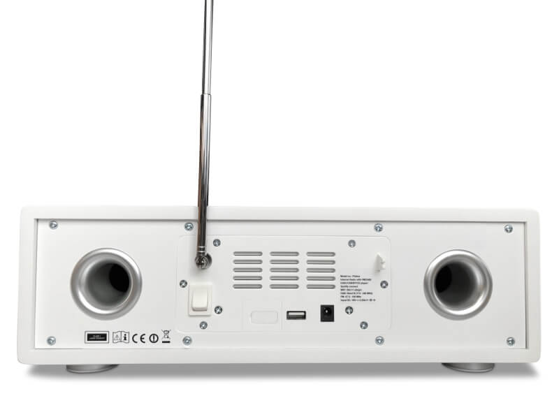 Atemio PTEC Pilatus digital radio DAB+ Internetradio DLNA Spotify CD FM UPNP Streaming Bluetooth