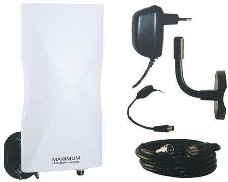 Maximum DA-6100 antenne - alt er i pakken, klar til montering.
