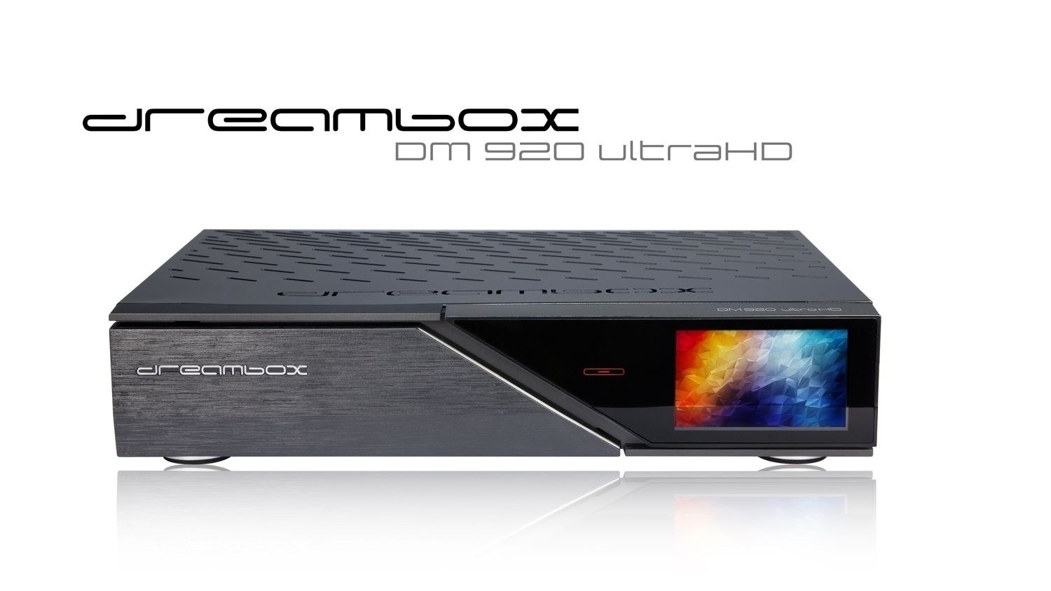 Dreambox 920 Ultra HD. 8 GB flash, Variable tuner configiration, FPGA technology on CI and fast Broadcom BCM45308X Chip.