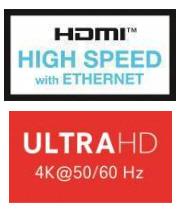 HDMI kabel - Ultra HD 4K (UHD) high speed HDMI kabel