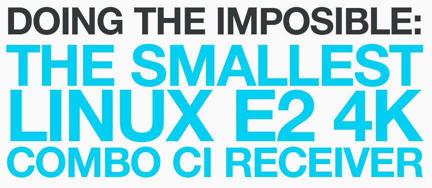 LUNIX 4K TV Boks - Ultrakompakt 4K TV Boks til kabel-TV, parabol eller antenne TV